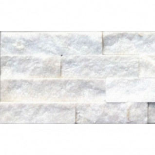 Кварцит белый (натуральный камень) 0,54 м2