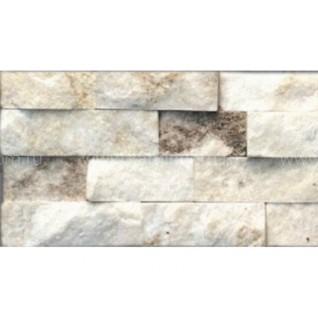 Кварцит серебристо-белый (натуральный камень) 0,54 м2