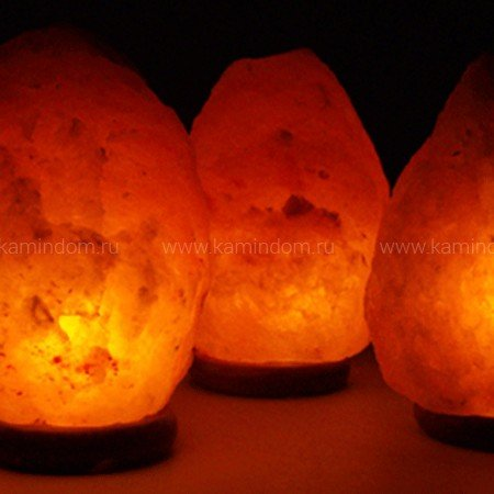 Соляная лампа Глыба СТАНДАРТ 5 кг из Гималайской соли