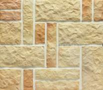 Плитка обл. кер. Рваный камень Хаос Разноцвет (4 размера) 0,6м2/уп.