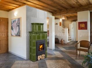 Изразцовая печь-камин Hein Catania 2