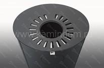 Печь-камин Romotop Lugo 03 AKUM металл