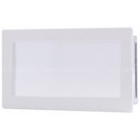 Вентиляционная решетка белая 17х30 см