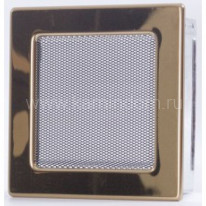 Вентиляционная решетка золото 17х17 см