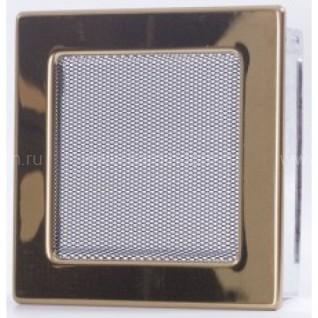 Вентиляционная решетка золото 17х17 мм