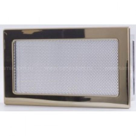 Вентиляционная решетка золото 17х30 см