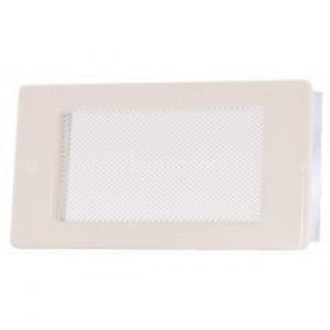 Вентиляционная решетка кремовая 11х17 см