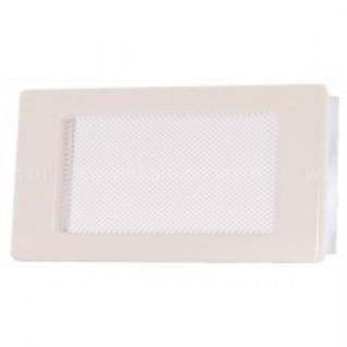 Вентиляционная решетка кремовая 11х17 мм