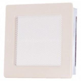 Вентиляционная решетка кремовая 17х17 мм