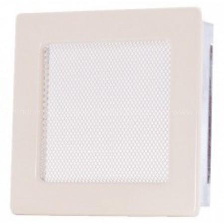 Вентиляционная решетка кремовая 17х17 см