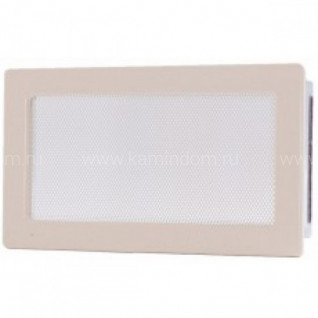 Вентиляционная решетка кремовая 17х30 мм