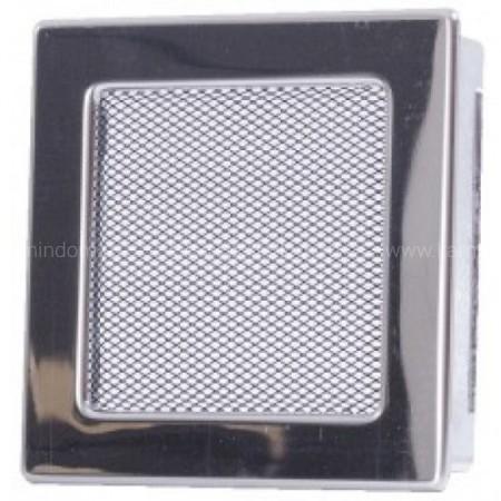 Вентиляционная решетка никель 17х17 см