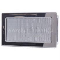 Вентиляционная решетка никель 17х30 см