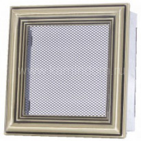 Вентиляционная решетка ретро 17х17 мм
