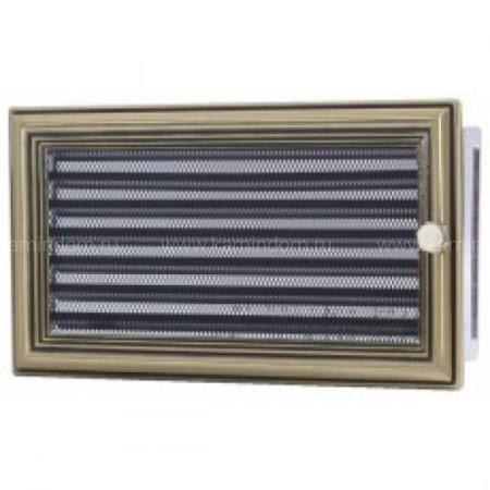 Вентиляционная решетка с жалюзи ретро 17х30 см