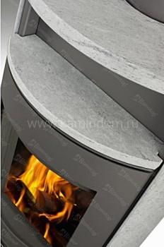 Печь-камин Romotop LUGO камень