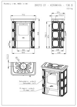 Печь-камин Romotop BROTO