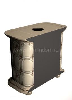 Изразцовая печь КимрПечь Прованс пристенный Звери