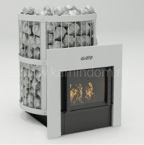 Печь для бани Grill-D Leo 240 window grey