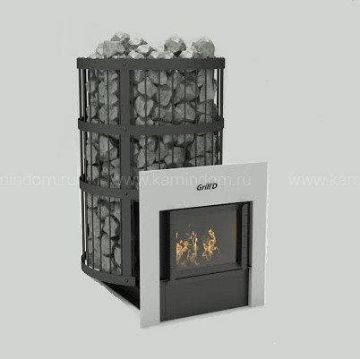 Печь для бани Grill-D Leo 300 window black