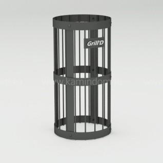 Сетка для камней серая или черная Grill-D
