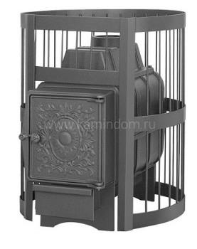 Чугунная печь для бани Везувий Легенда Стандарт 16 Ч (БЕЗ ВЫНОСНОГО ТОННЕЛЯ)