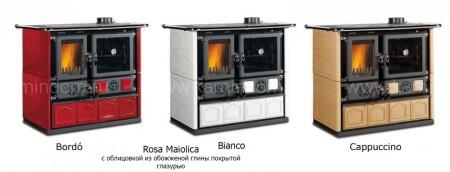 Отопительно-варочная печь La Nordica Rosa Maiolica