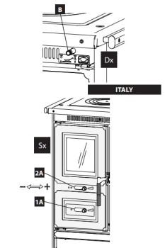 Отопительно-варочная печь La Nordica Italy
