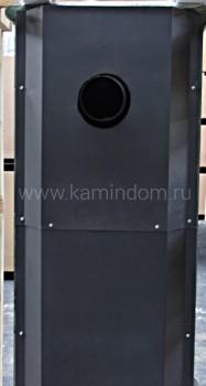 Изразцовая печь-камин TermoVision Gratz зеленый 10 кВт