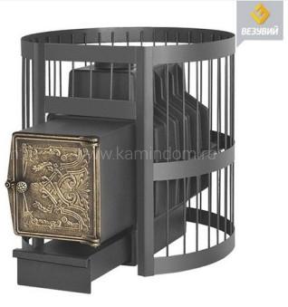 Дровяная печь для бани Везувий Легенда Стандарт 28 (ДТ-4)