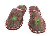 Тапочки LK ЖЕНСКИЕ с вышивкой (арт.303900)