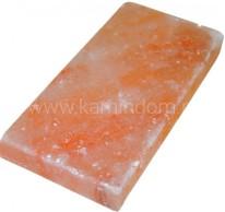 Плитка из Гималайской соли 20*10*2,5 см шлифованная
