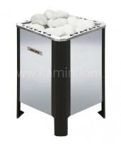 Электрическая печь для бани Бранденбург Аврора 12 нерж. напольная