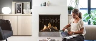 Газовая каминная топка Kal-Fire Fairo ECO-prestige 75