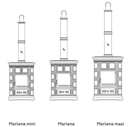 Печь-камин Sergio Leoni Marlene