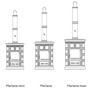 Печь-камин Sergio Leoni Marlene Maxi