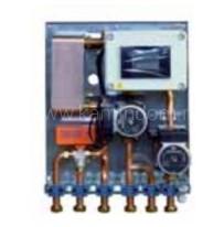 Гидравлическая система разделения первичного контура (Termogar) и вторичного контура (система отопления). Поставляется с электронным блоком управления.