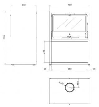 Отопительная печь Rocal LL-1160