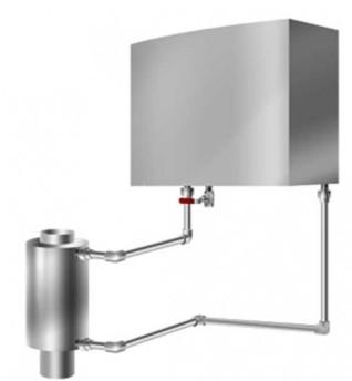 Теплообменник ЕвроТиС Титан-Р-М 20 литров (нержавеющая сталь)