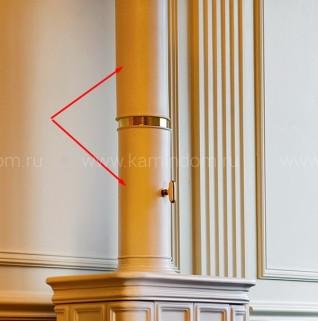 E07 керамическая колонна 90 см - 2 части