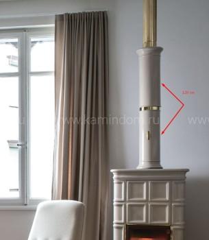 E42 керамическая колонна 120 см - 2 части