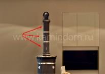 A02  керамическая колонна 112 см - 3 части