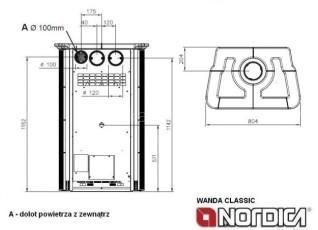 Печь-камин La Nordica Wanda Classic