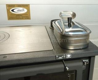 Отопительно-варочная печь с водяным контуром La Nordica TermoRosa D.S.A