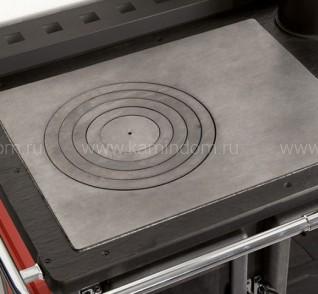 Отопительно-варочная печь с водяным контуром La Nordica TermoRosa Ready D.S.A. 2.0