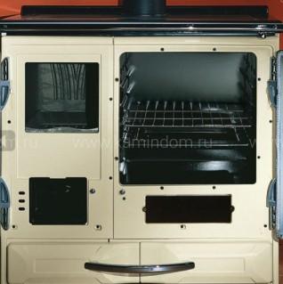 Отопительно-варочная печь с водяным контуром La Nordica TermoSuprema Compact D.S.A