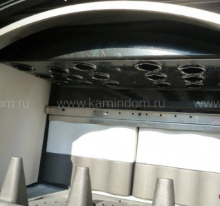 Отопительно-варочная печь с водяным контуром La Nordica TermoIsotta D.S.A