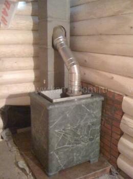 Одноходовой комплект керамического дымохода Schiedel UNI (⌀140 мм / 14 м) без вентиляционного канала