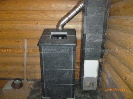 Одноходовой комплект керамического дымохода Schiedel UNI (⌀180 мм / 5 м) без вентиляционного канала