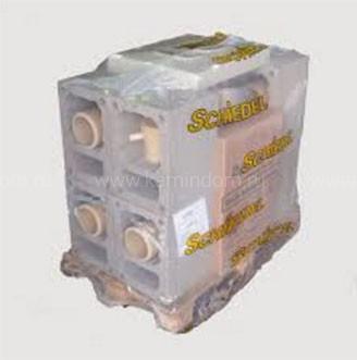 Одноходовой комплект керамического дымохода Schiedel UNI (⌀300 мм / 12 м) с вентиляционным каналом